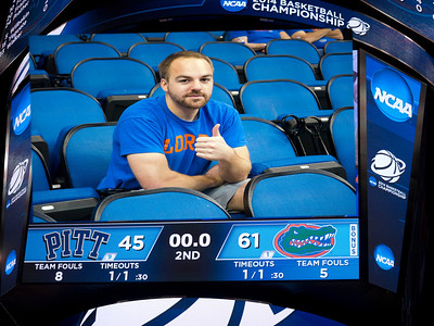 NCAA 3rd Round Tourny BBall Game Gators V Pitt 3/22/14