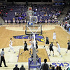 Minnesota State and Harding play during the first half of the NCAA Division II Central Region tournament game Saturday at Bresnan Arena. Pat Christman
