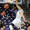 Minnesota State's Assem Marei scores an easy two points Saturday at Bresnan Arena. Pat Christman