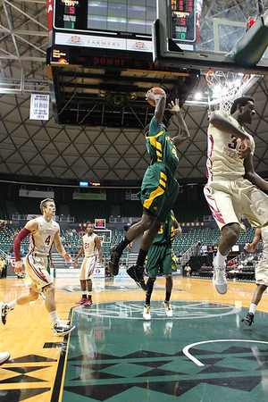 Florida State defeats 15th ranked Baylor, 68-61, in the third place game of the Diamond Head Classic on December 25, 2010.