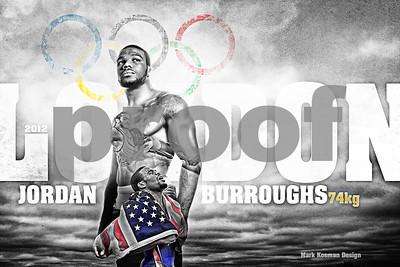 Olympian Jordan Burroughs- Getty Images Sport