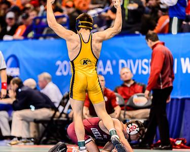 2015 COL WRESTLING: NCAA DI: PRELIMS