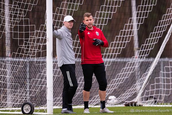North Carolina FC Training