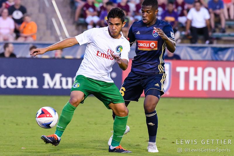 NASL Fall Season - North Carolina FC vs New York Cosmos