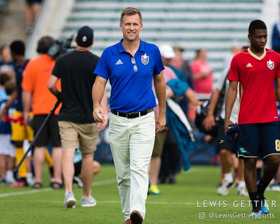North Carolina FC President and General Manager Curt Johnson