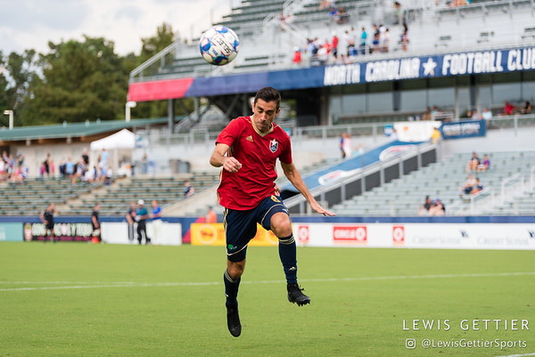 North Carolina FC midfielder Austin da Luz (6)