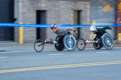 #202-David Weir-GRB-(P3), #203-Aaron Pike-USA-(4), new york city marathon 2019