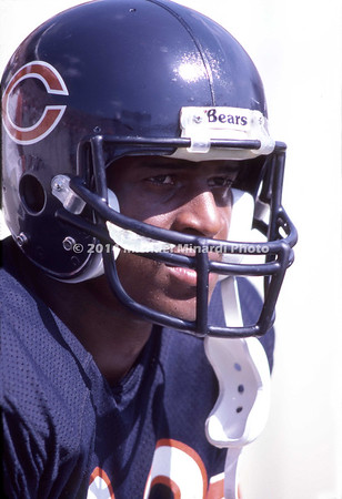 Wide Receeiver Willie Gaullt #83 of the Chicago Bears