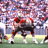 TAMPA, FL - SEPTEMBER 17; QB Joe Montana #16 calls the signals during the snap by Center Jesse Sapola #61 both of the San Francisco 49ERS agianst the Tampa Bay Buccaneers on September 17, 1989 at Tampa Stadium in Tampa, Florida. The 49ERs won 20-16. (Photo by Michael Minardi) *** Local Caption *** Joe Montana;Jesse Sapola