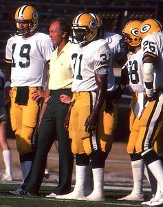 Bart Starr, 1982, LA Coliseum vs Raiders