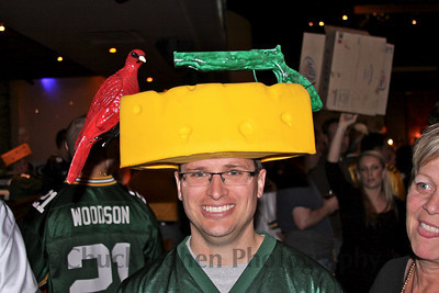 A creative Packer Cheesehead