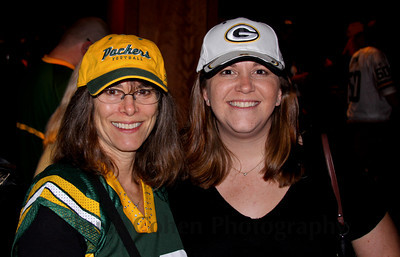 Two beautiful Packer Backers