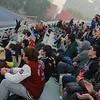 NFL Home Field Beijing - Week 8 - Spectators cheer on local teams
