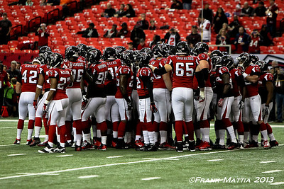 NFL 2013 -  Falcons beat Redskins 28-27