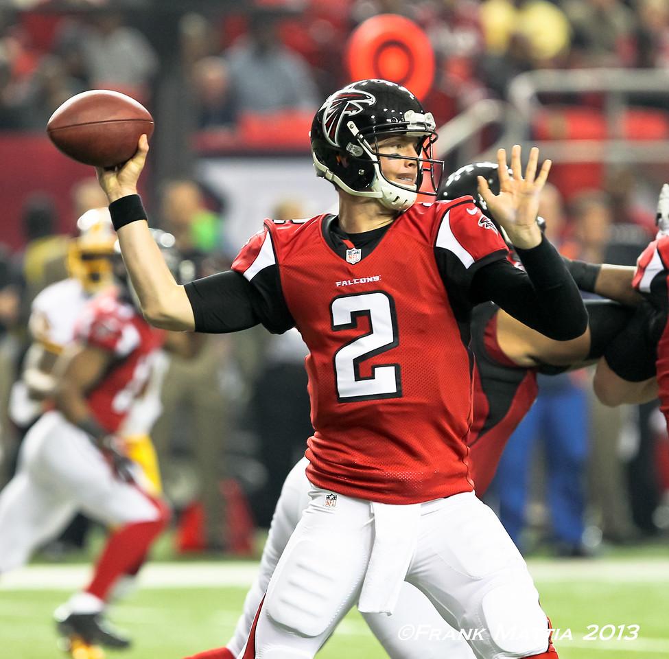NFL 2013 -  Falcons beat Redskins 28-27