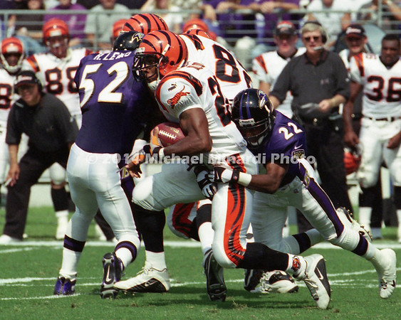 Mark Roman #20 of the Cincinnati Bengals