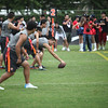 Local Shanghai teams participated in the Nike NFL 7-on-7 Flag Football Tournament at the 2012 Nike Festival of Sport