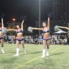 Ladies from the New England Patriots Cheerleaders perform at the 2012 Nike Festival of Sport
