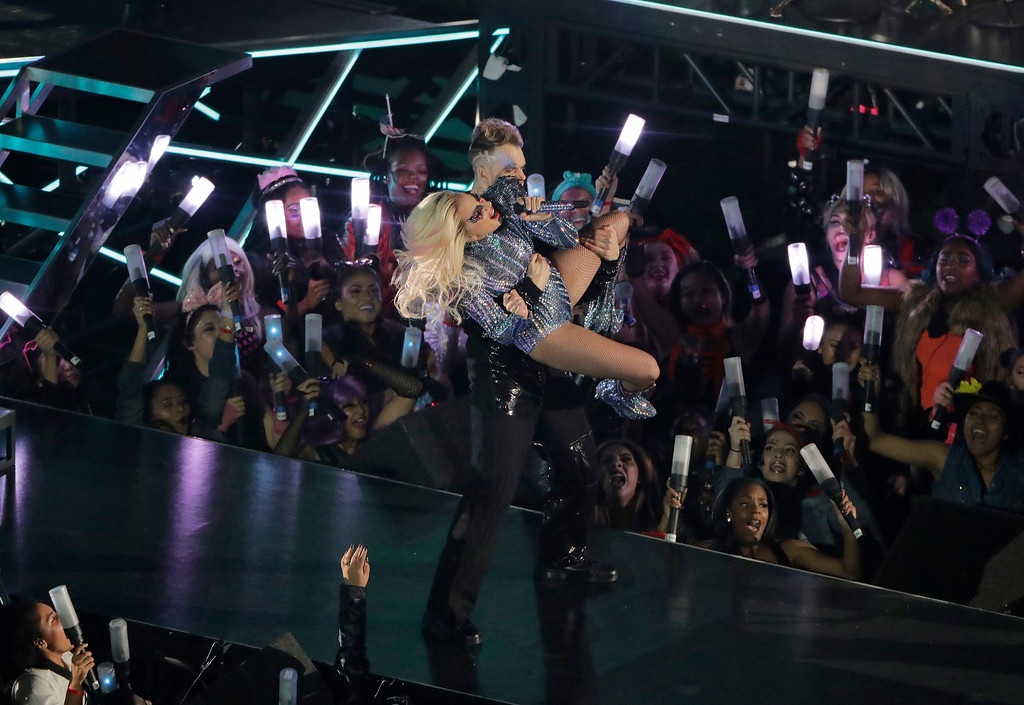 Photos: Lady Gaga and Luke Bryan at Super Bowl LI - News-Herald