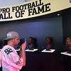Hall of Fame busts at NFL Draft Fan Experience (Mark Podolski)