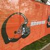 Browns banner at NFL Draft Fan Experience (Mark Podolski)