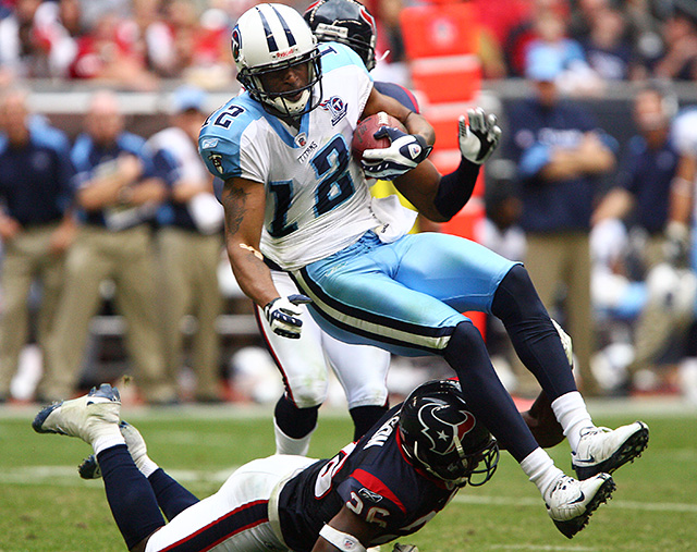 December 146, 2008 - The Houston Texans defeated the Tennessee Titans 13-12 at Reliant Stadium.