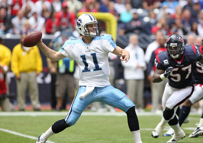 November 28 2010 - Quarterback Rusty Smith made his first NFL career start.  The Houston Texans defeated the Tennessee Titans 20-0 at Reliant Stadium.