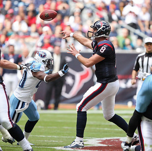 November 28 2010 - The Houston Texans defeated the Tennessee Titans 20-0 at Reliant Stadium.