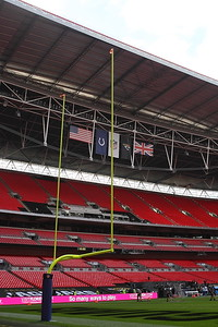 General Views of the stadium ahead of the NFL International Series match between Indianapolis Colts and Jacksonville Jaguars at Wembley Stadium on October 2, 2016 in London, England.