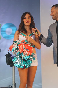 Britain's first NFL cheerleader Holly Warden returns to London for Wembley clash