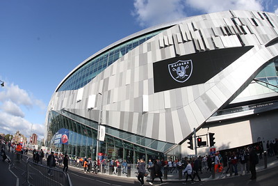 Oakland Raiders v Chicago Bears - NFL International Series - Tottenham Hotspur Stadium, London, Britain – 6 October 2019