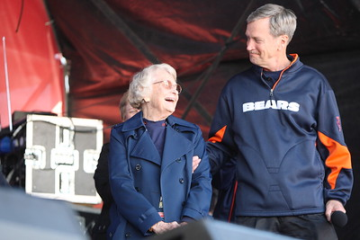 Virginia Halas McCaskey is the principal owner of the Chicago Bears