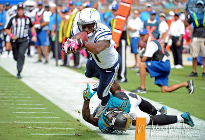 NFL: San Diego Chargers at Jacksonville Jaguars