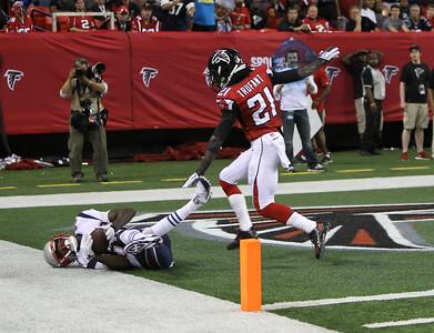 NFL 2013- Patriots beat the Falcons 30-23