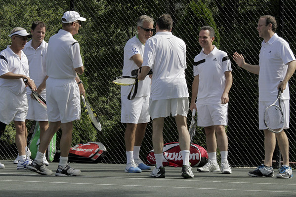 NGT Mats Wilander clinic at the Lake Club
