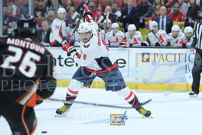 NHL 2018: Capitals vs Ducks MAR 06