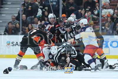 NHL 2018: Blue Jackets vs Ducks MAR 02