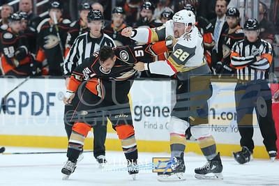 NHL 2017: Golden Knights vs Ducks NOV 22