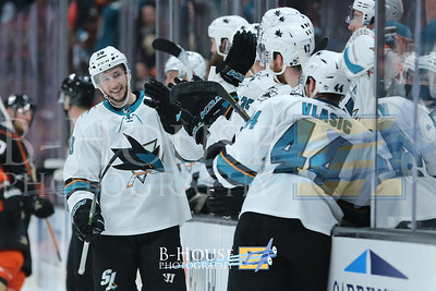NHL 2018: Sharks vs Ducks JAN 21