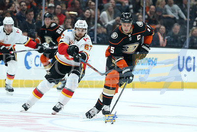 NHL 2019: Flames vs Ducks OCT 20