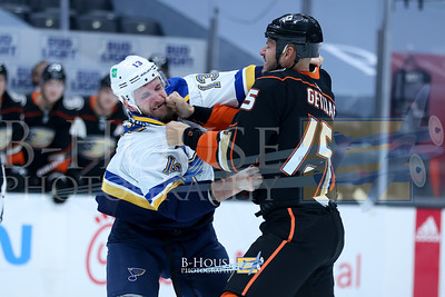 NHL 2021: Blues vs Ducks JAN 30