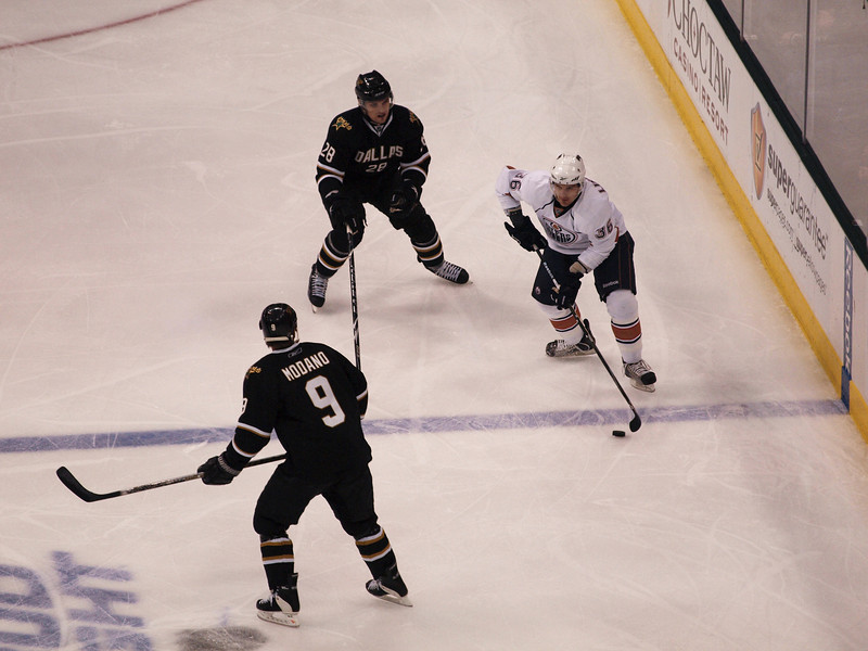 Dallas Stars vs. Edmonton Oilers, April 2, 2010.
