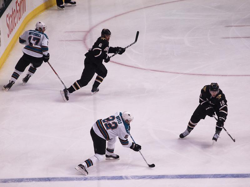 Dallas Stars vs. San Jose Sharks, March 31, 2010