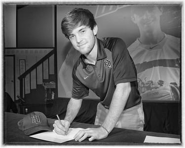 NLI Signing Day Luke Van Dover Harding Baseball