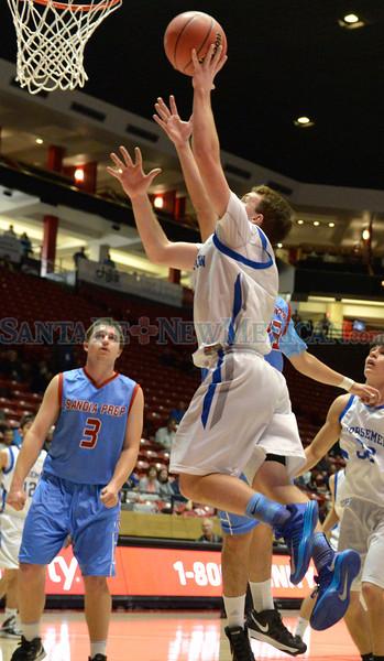 NM State High School Boys Basketball 031513