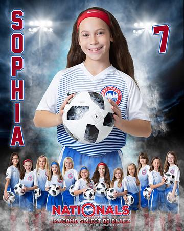 Sophia Nationals Door Sign 08 Select Black 1