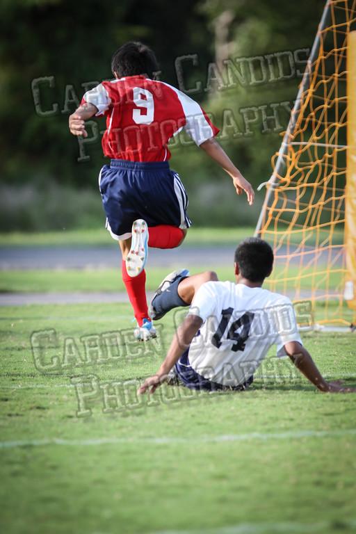 North Davie Boys Soccer vs Forbush 9-11-14-009