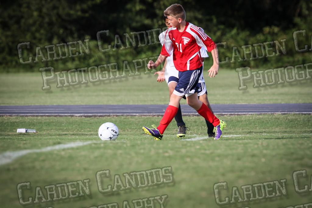 North Davie Boys Soccer vs Forbush 9-11-14-012