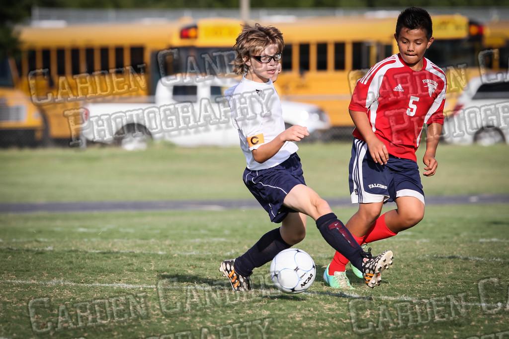North Davie Boys Soccer vs Forbush 9-11-14-029