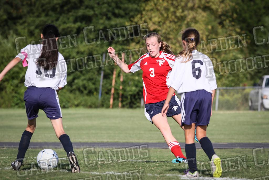 North Davie Girls Soccer vs Forbush 9-11-14-310